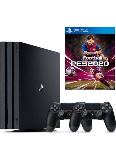Sony Ps4 PRO 1 TB Oyun Konsolu + 2. Kol + Pes 2020 Renkli